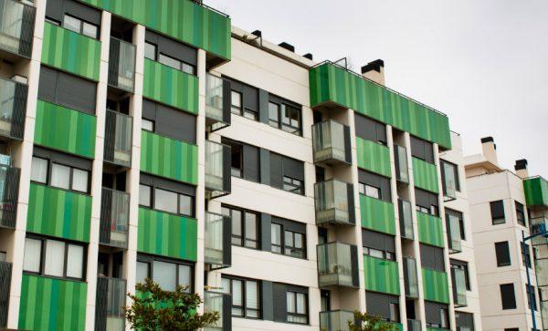 Fachada edificio de viviendas