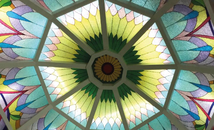 Vidrieras cúpula